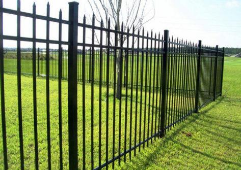 забор из профильной трубы в Набережных Челнах